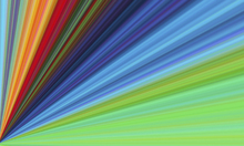 Wall mural - Colors of the Rainbow