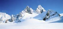 Fototapet - Snowy Mountain Peaks