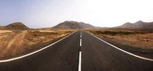 Fototapet - Panorama Endless Road
