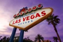 Canvas-taulu - Las Vegas Sign