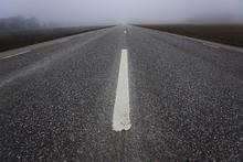 Fototapet - Asphalt Road
