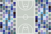 Wall mural - Basketball