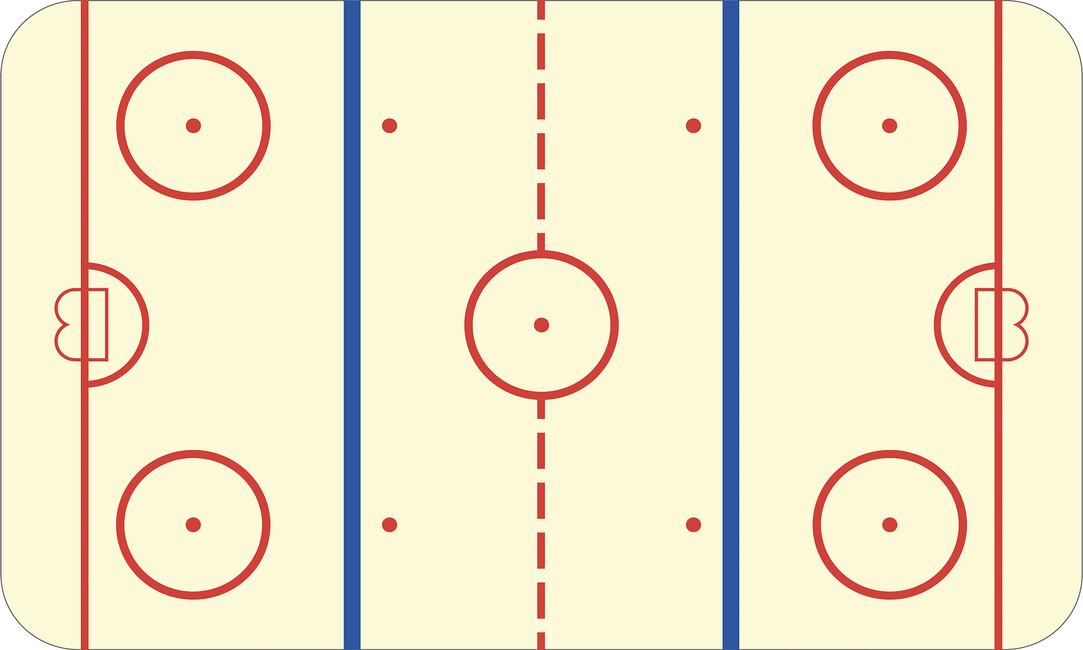 Ice Hockey Rink - Canvas Print & Canvas Art - Photowall