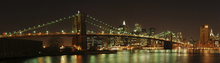 Canvas-taulu - Brooklyn Bridge Full View