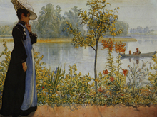 Wall mural - Indian Summer, Carl Larsson