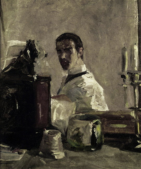 Self Portrait, Henri Toulouse Lautrec