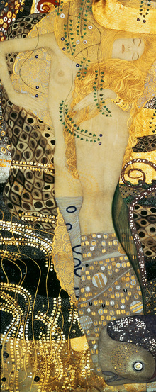 Wall mural - Water Serpents, Gustav Klimt