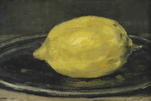 Canvas print - Lemon, Edouard Manet