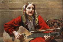 Canvas print - Gagnefkulla, Anders Zorn