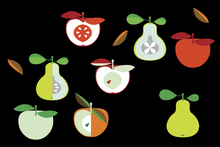Wall mural - Kivik Apple and Pear