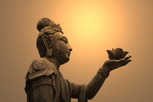 Canvas print - Buddhist Statue, Hong Kong