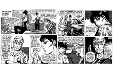 Fototapet - Modesty - Comic Strip 2
