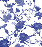 Wallpaper - Botanica - Blue