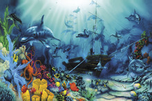 Wall mural - Ocean Treasures