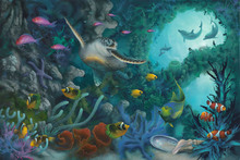 Wall mural - Jewels of the Sea