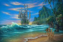 Canvas-taulu - Fantasy Beach