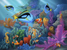 Wall mural - Friends of the Sea