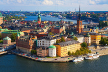 Canvas print - Stockholm in Sunlight