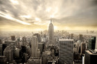 Wall mural - Enchanting New York - Yellow Sky