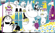 Fototapet - Moomin - Comic Book 2
