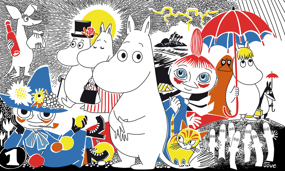 Moomin - Comic Book 1