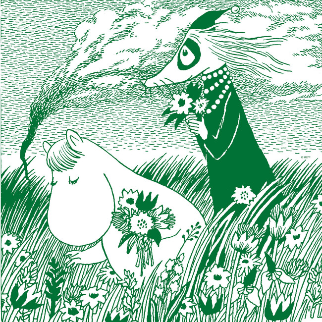Moomin - Meadow Green
