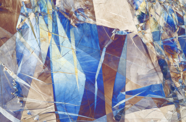 Cracked glass abstract wall mural photo wallpaper for Broken glass mural