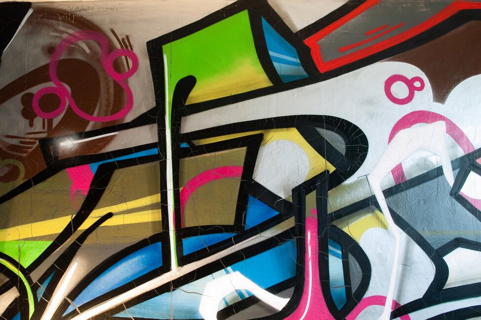 Colorful Graffiti Wall Mural Photo Wallpaper Photowall