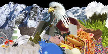 Fototapet - Universal Everything - Eaglemountain