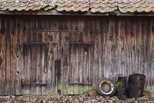 Canvas print - Old Barn