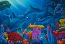 Wall mural - Secrets of the Sea