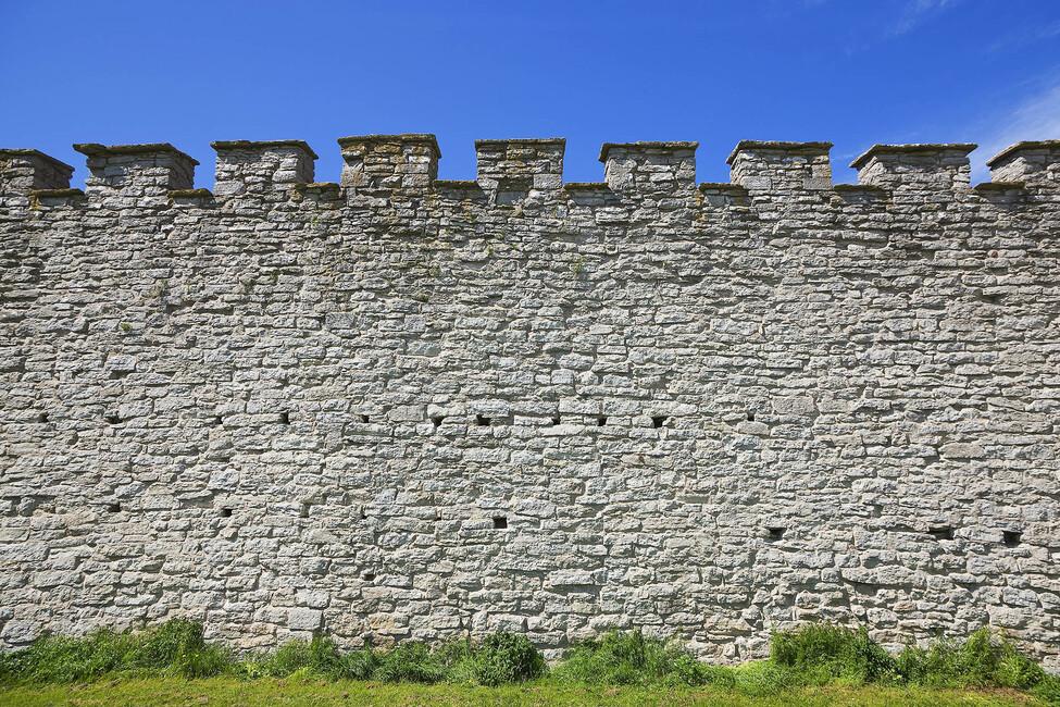 Old Fortress Wall Wall Mural Photo Wallpaper Photowall