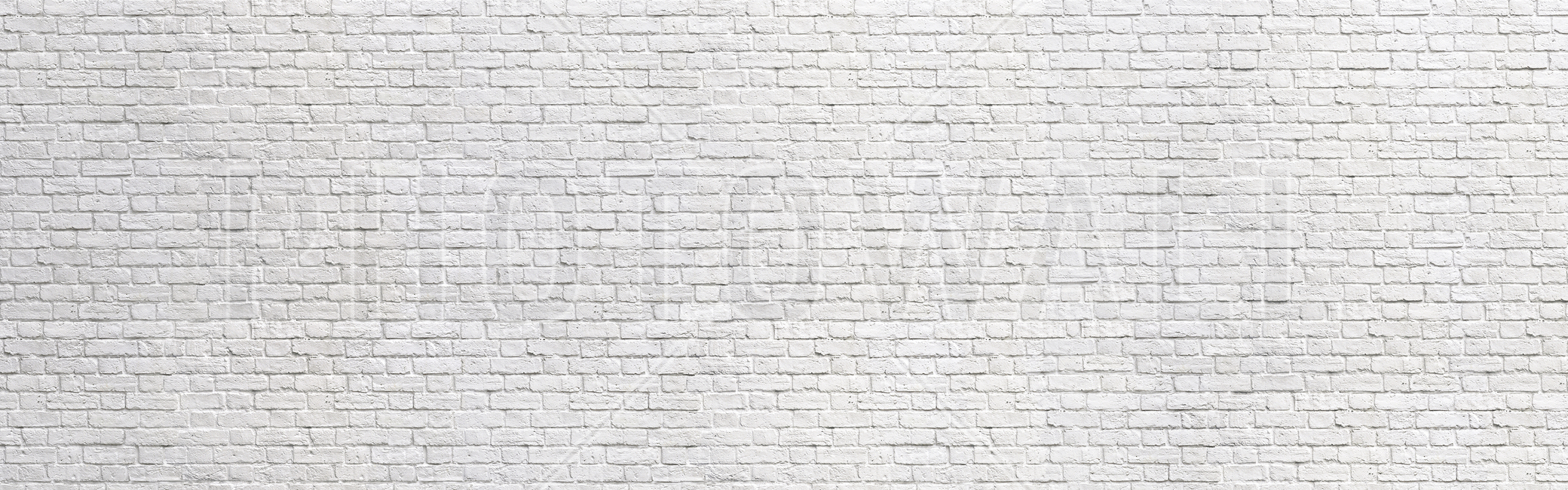 Brick Wall - White