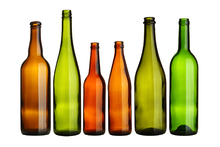 Canvastavla - Colorful Bottles