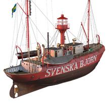 Canvas-taulu - Fyrskeppet Svenska Björn