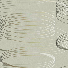 Wallpaper - Swirle in Two - Grey