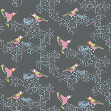 Wallpaper - Birds Nest - Small