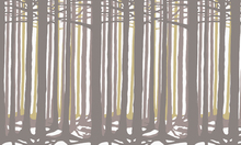 Fototapet - Studio Rita | Julia Heurling - Deep - Yellow