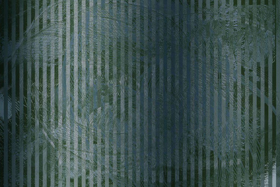 Abstract Specular Reflections - Green Grey