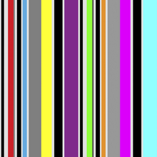 Wallpaper - Standing Stripes - Multi
