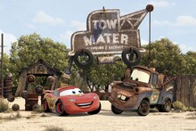Canvas-taulu - Cars - Tow Mater