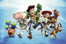 Wall mural - Toy Story - The Gang