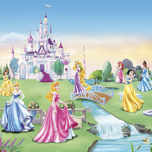 disney wallpaper for bedrooms. Wall mural  Princess Castle Children Wallpaper Disney Murals Photowall co uk