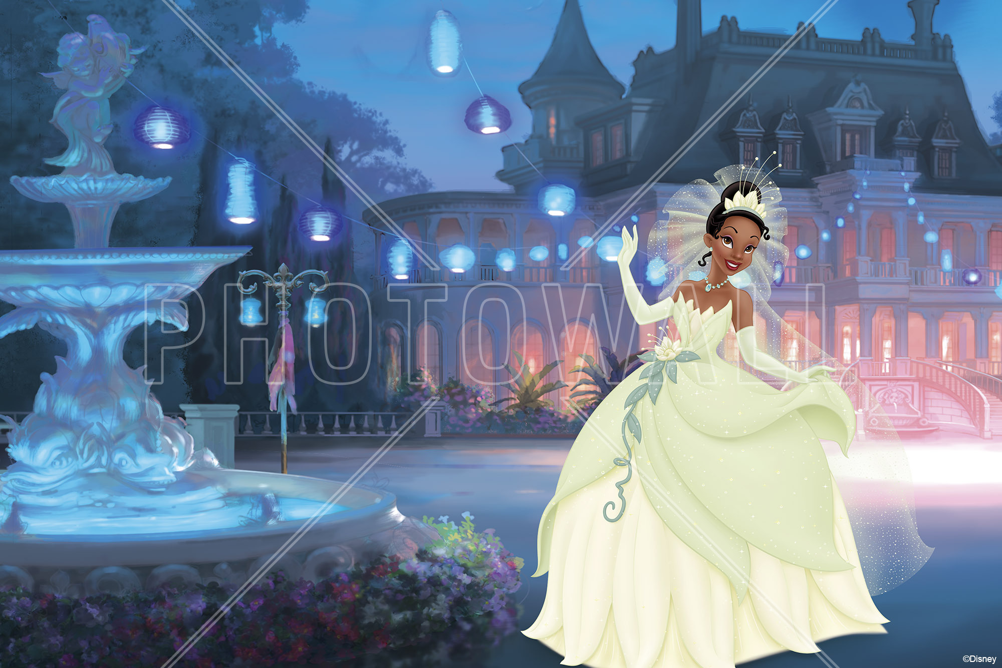Wall Mural   Princess   Tiana Part 56