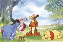Canvas print - Winnie the Pooh - Summer Day