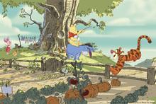 Wall mural - Winnie the Pooh - Tree House