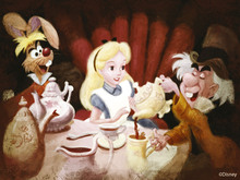 Wall mural - Disney Classics - Alice in Wonderland - Tea Party
