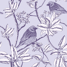 Wallpaper - Finch - Purple