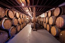 Fototapet - Old Wine Barrels
