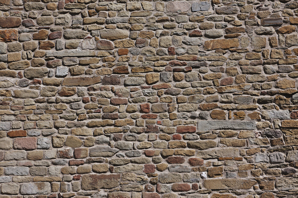 Old Brick Wall Decor : Old brick wall canvas print art photowall